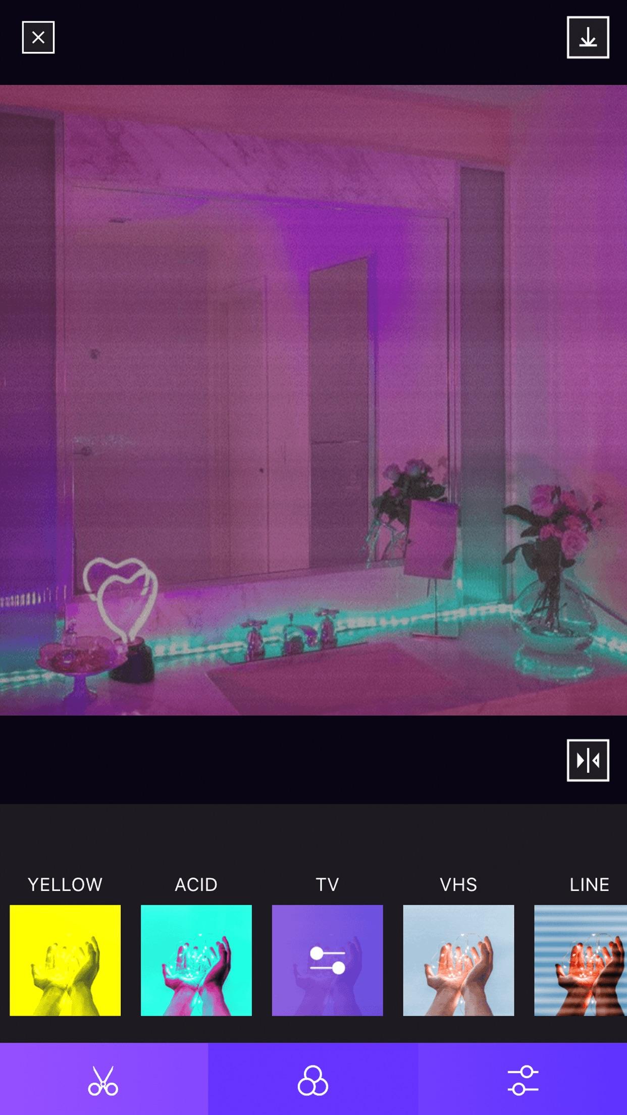 蒸汽相机-复古风格滤镜相机 Screenshot