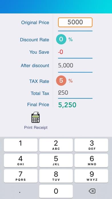 Tax & Sales Calc screenshot one