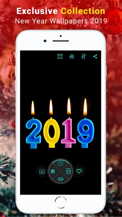 Happy New Year Wallpapers 2019 screenshot-0