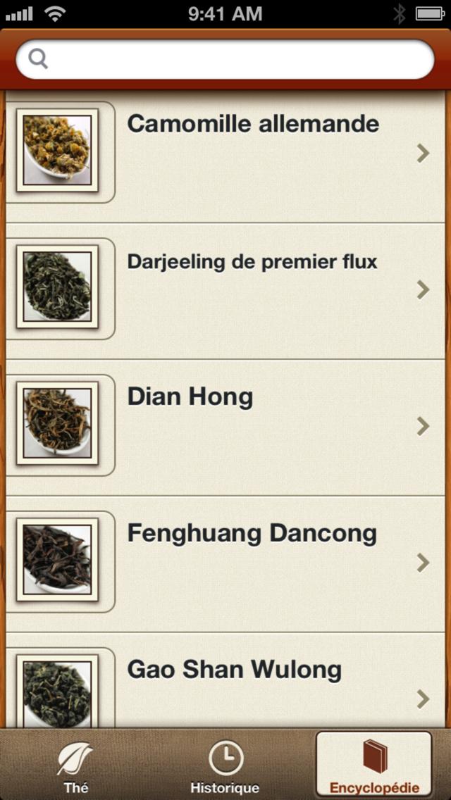 Tea : une app iPhone pour les adeptes du thé-capture-2