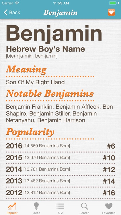 Baby Names+