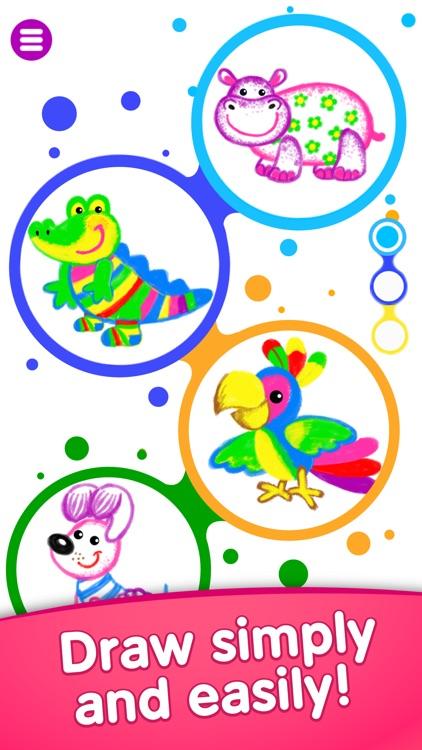 Drawing Games for Kids Toddler screenshot-0