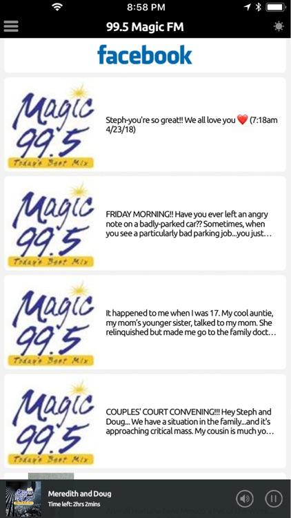 Magic 995 FM Screenshot 3