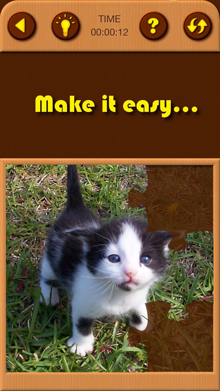 Cat Kitten Jigsaw Puzzle Games Screenshot