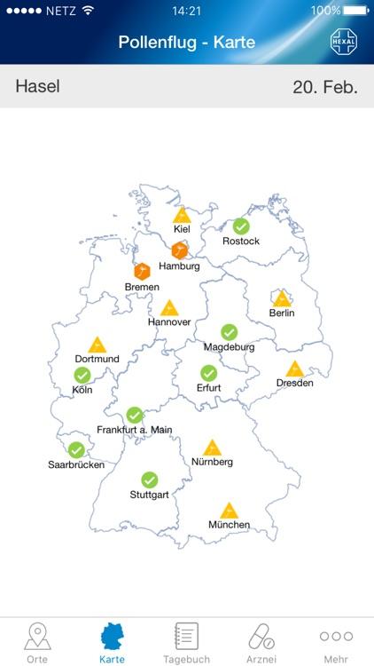 Pollenflug-Vorhersage screenshot-0