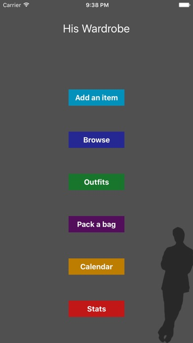 Screenshot for His Wardrobe in United Kingdom App Store