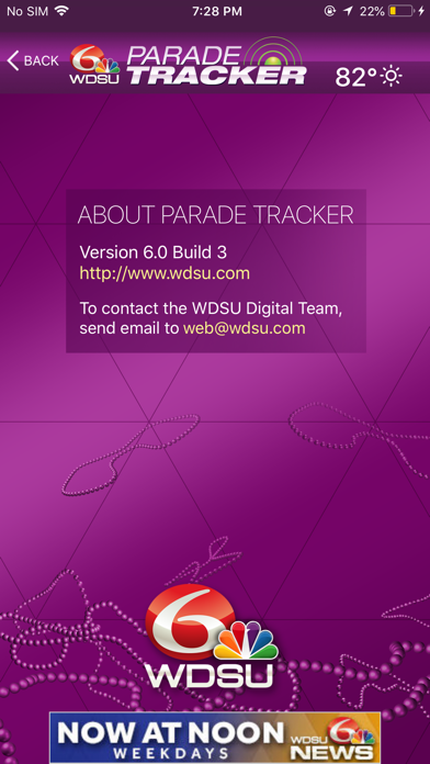 WDSU Parade Tracker by Hearst Television (iOS, United States