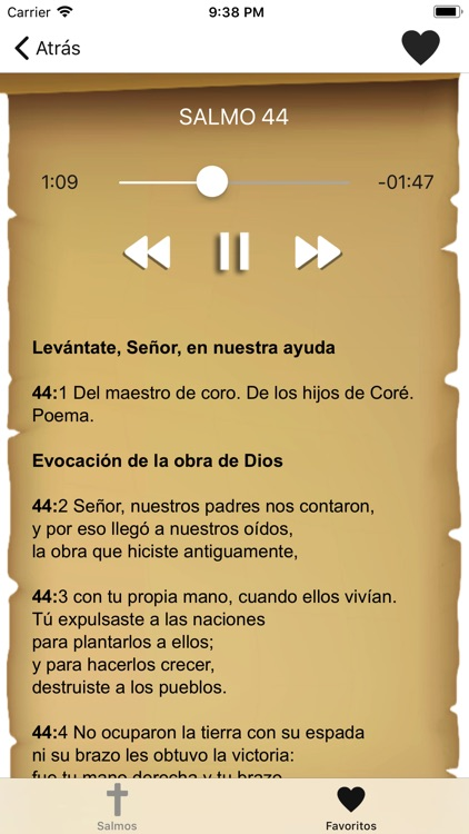 Biblia: Salmos con Audio screenshot-3