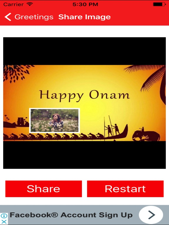 Onam greetings maker for onam messages images app price drops screenshot 3 for onam greetings maker for onam messages images m4hsunfo