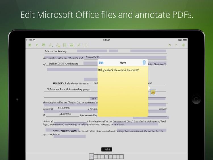 Citrix ShareFile for iPad screenshot-3