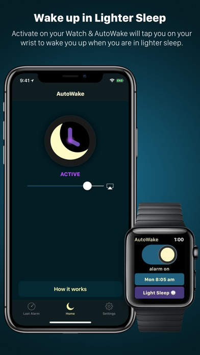 AutoWake. Smart Sleep Alarm Screenshot 2