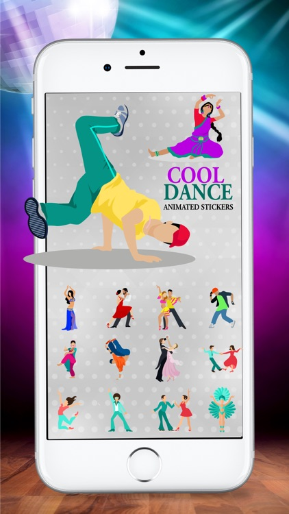 Animated Dancing Life Stickers
