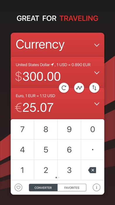 GlobeConvert - Currency & Units Converter Screenshot 1