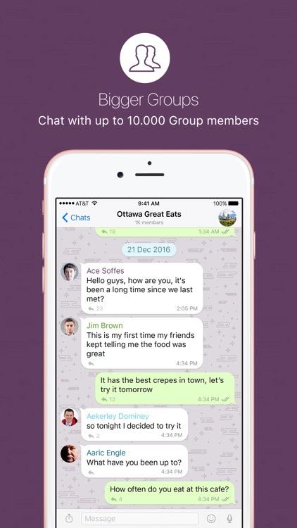 nandbox Messenger - Chat screenshot-3