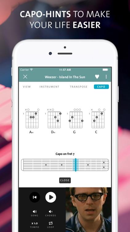 Chordify - chords for any song screenshot-3