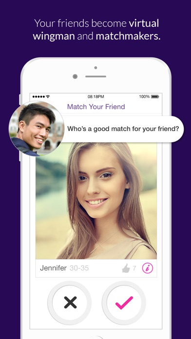 M8: Play Wingman + Dating App Screenshot on iOS