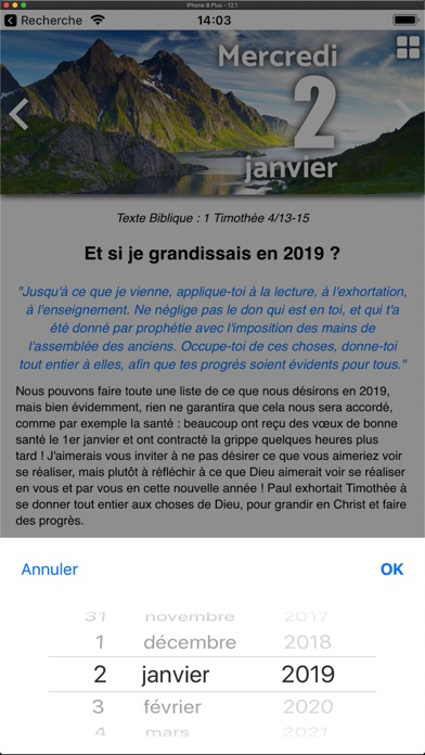 download Trésor Quotidien 2019 apps 1