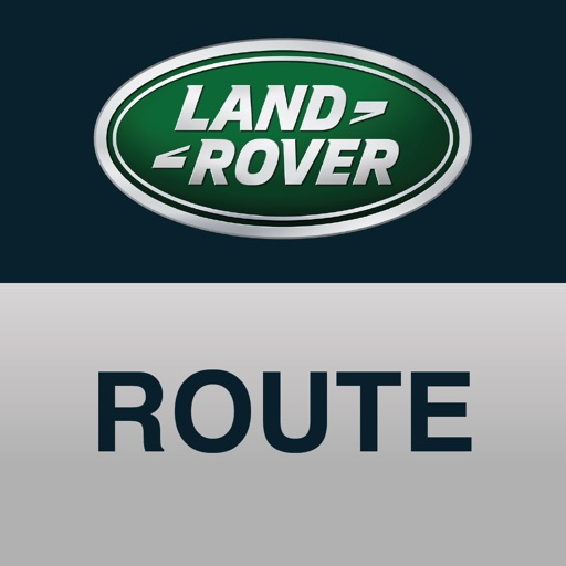 Land Rover InControl Route Planner
