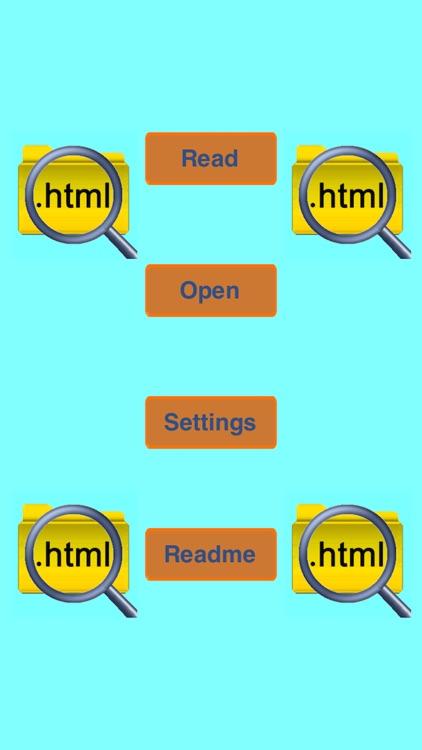 HTML Reader Lite screenshot-3