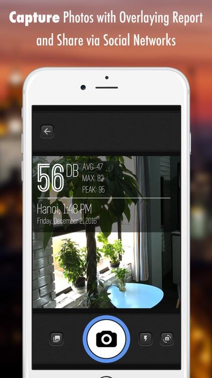 Decibel X - dBA Noise Meter screenshot-3
