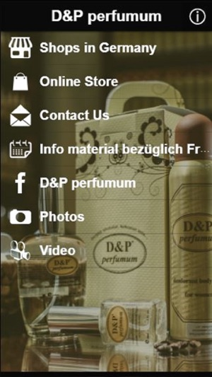 Dp Perfumum On The App Store