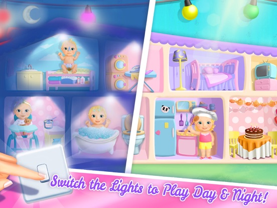 Sweet Baby Girl Dollhouse FULL screenshot 10