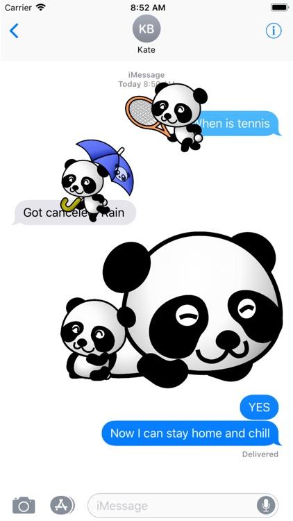 Panda Stickers - 2018