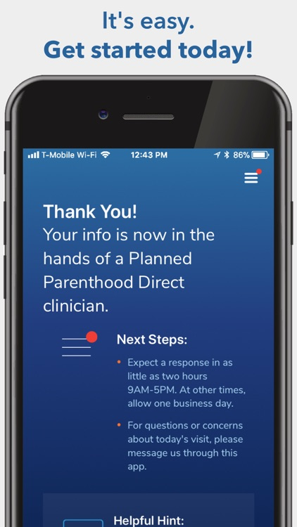 Planned Parenthood Direct℠ screenshot-5