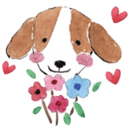 Lovely Dog - Doggy Sticker