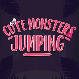 Cute Monsters Jumping