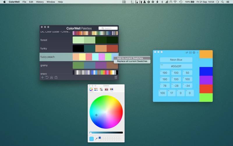 ColorWell Screenshots