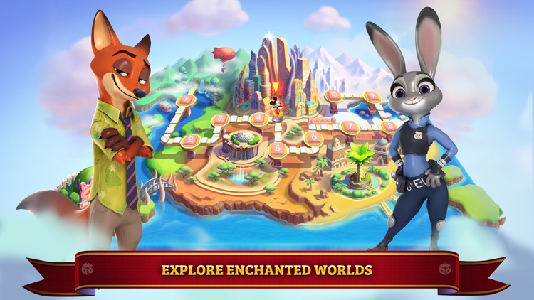 Disney Magical Dice (New)