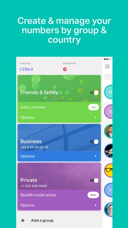 onoff App - Call, SMS, Numbers screenshot-2