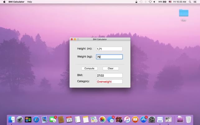 BMI Calculator - Calculate Body Mass Index on the Mac App Store
