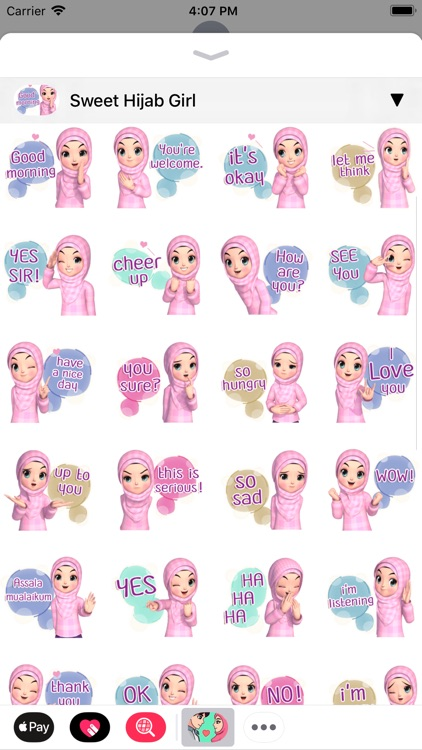 Muslim Stickers App screenshot-7