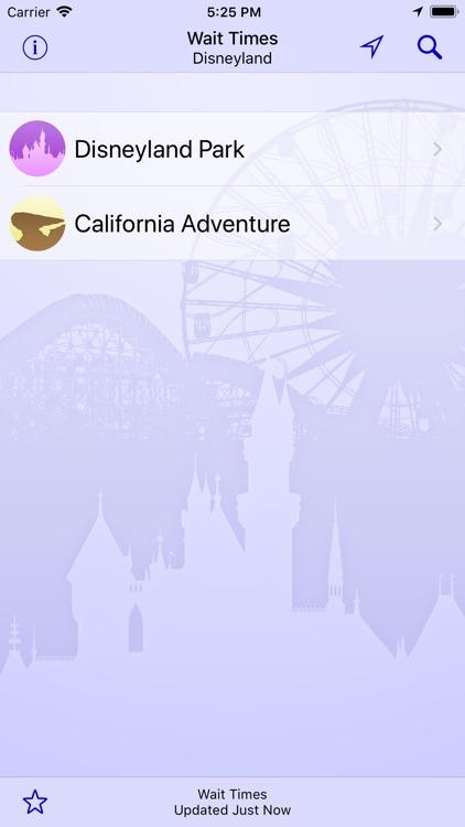Wait Times at Disneyland
