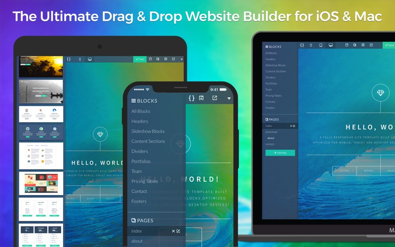 UXWeb™ Screenshots