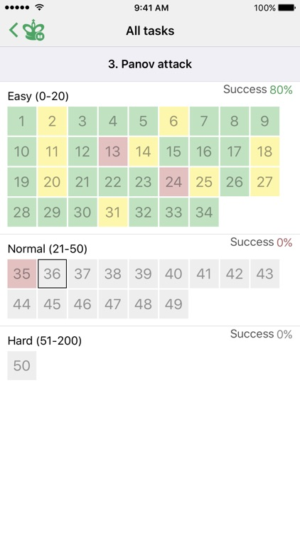 Chess Tactics. Caro-Kann Def. screenshot-3
