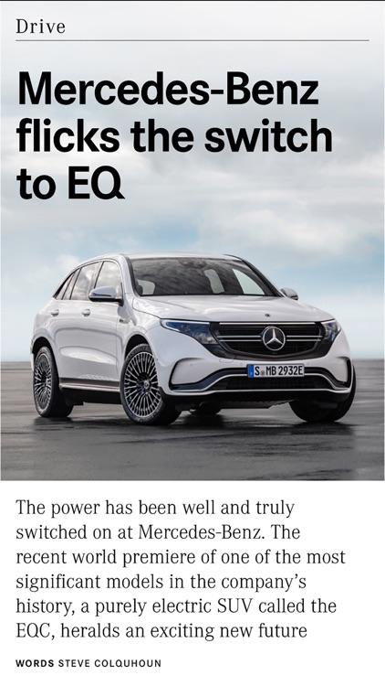 Mercedes me magazine AUS/NZ