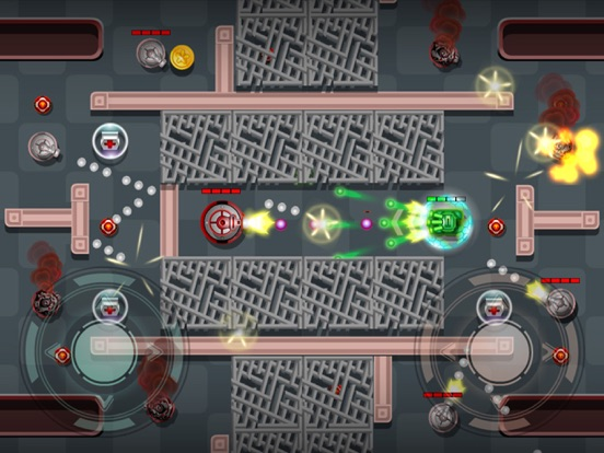 Tanks Fire Up:pocket wars hero-ipad-4