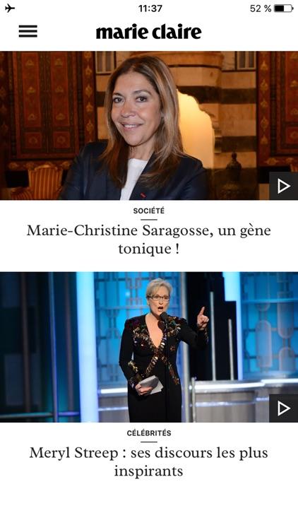 Marie Claire toute l'actu mode screenshot-4