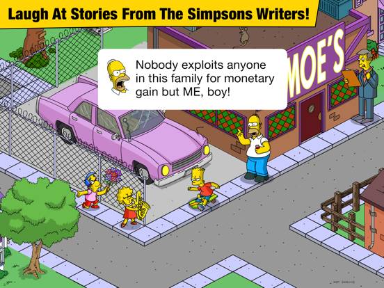 The Simpsons™: Tapped Out iPad