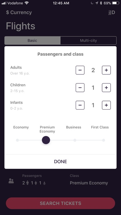 Flights - the cheapest tickets