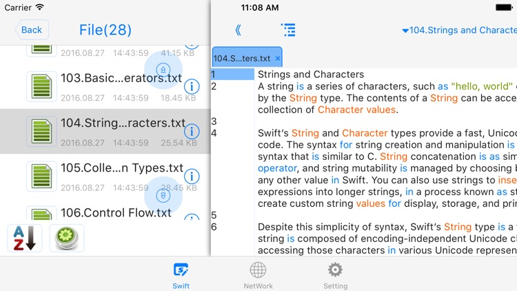 Editer For Swift programming