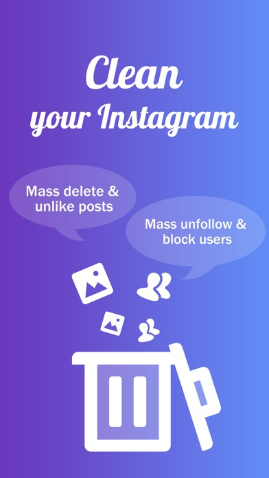 InstaClean - Cleaner for IG