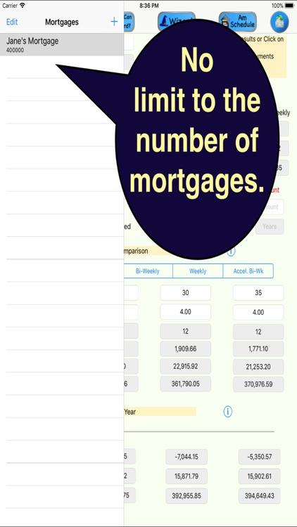 GoldMine Mortgage Analyzer screenshot-3