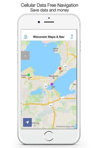 Wisconsin Offline Maps - náhled