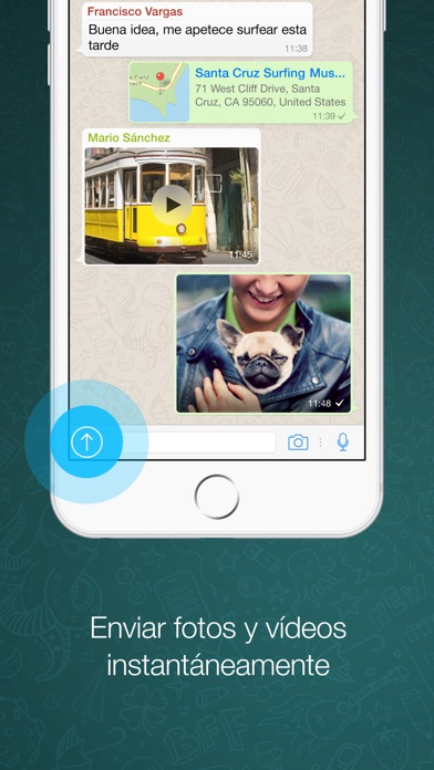 Screenshot for WhatsApp Messenger in Colombia App Store