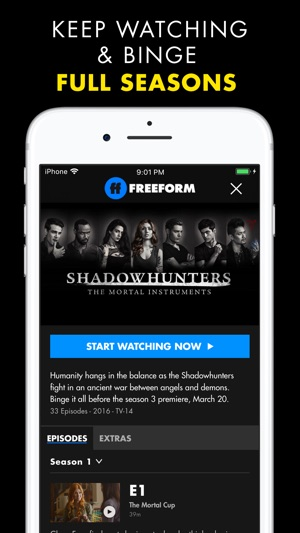Freeform TV On The App Store