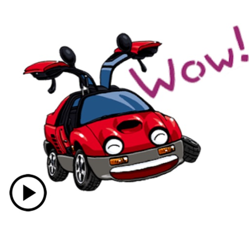 CarMoji Animated Car Sticker